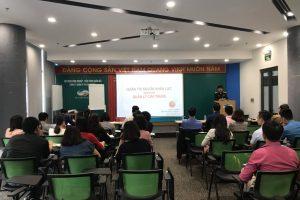 VNNEDU Tổ chức đào tạo Quản lý dự án theo chuẩn Quốc tế PMI cho Tổng Công ty CP Công trình VIETTEL (VCC)