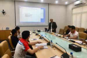 Khoá đào tạo Kỹ thuật đo nồng độ khí SO2, CO2, CO cho Tổng công ty khí Việt Nam – CN Khí Hải Phòng
