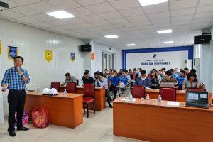 Trung tâm Viễn Thông 1 -Viễn Thông Hà Nội- Tập đoàn Bưu chính Viễn thông Việt Nam tổ chức huấn luyện An toàn vệ sinh lao động 2021